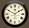 Paddington Station Clock Black Case Roman Dial