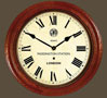 Paddington Station Clock Wooden Case Roman Dial