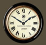 Paddington Railway Clock Black Case Roman Dial 16